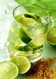 Lime coctail Stock Image