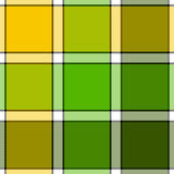 Lime color check plaid seamless pattern Stock Image