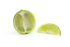 Lime cut Royalty Free Stock Photography