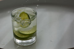 Lime Drop Stock Photo