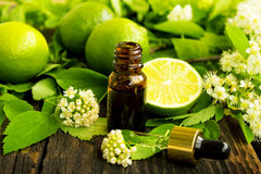 Lime essence Royalty Free Stock Photo