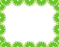 Lime frame Royalty Free Stock Photography