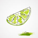Lime fruit Royalty Free Stock Photo