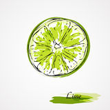 Lime fruit Royalty Free Stock Photos