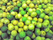 Lime fruit from Indian market Stock Images