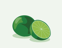 Lime fruit sliced Royalty Free Stock Photo