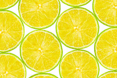 Lime Fruit Slices Royalty Free Stock Images