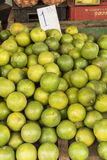 Lime fruits for sale Havana Royalty Free Stock Image