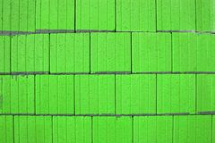 Lime Green Abstract Squares Stock Photos