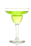 Lime and green apple margarita Stock Photos