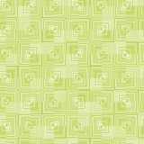 Lime green background pattern vector with a geometric design created with circles stock illustration