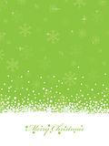 Lime green christmas Stock Images