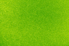 Lime Green Glitter Background stock photography