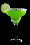 Lime green margarita Royalty Free Stock Photo