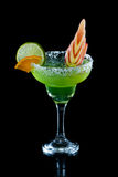 Lime green margarita Royalty Free Stock Images
