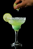 Lime green margarita Royalty Free Stock Photos