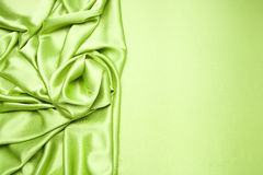Lime green satin background Royalty Free Stock Image