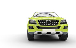 Lime Green SUV Royalty Free Stock Photo