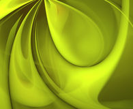 Lime Green Swirl Royalty Free Stock Photos