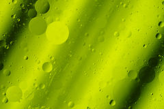 Lime Green Tones Abstract Hortizontal Design Background Rounds Stock Images