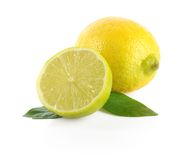 Lime and half Stock Images