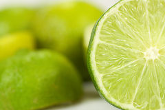 Lime_half Stock Photos