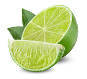 Lime with half Stock Images