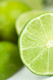 Lime_half_portrait Stock Photo