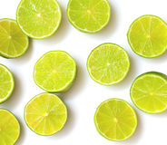 Lime halfs Royalty Free Stock Image