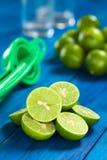 Lime Halves Royalty Free Stock Photos