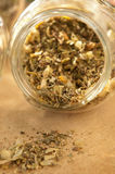 Lime Herb in Jar Stock Images