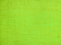 Lime hessian weave fabric Royalty Free Stock Photography