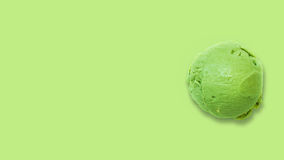 Lime ice cream Royalty Free Stock Photography