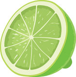 Lime icon Royalty Free Stock Photography