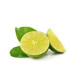 Lime isolate on white background (Lemon fruit) Royalty Free Stock Photo