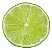 Lime isolated on white. Background with clipping path Stock Photos