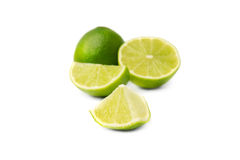 Lime isolated Royalty Free Stock Photo