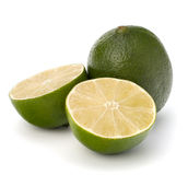 Lime isolated on white background Stock Photography