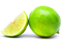 Lime. Isolated on white background Stock Images