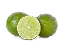 Lime isolated on white Royalty Free Stock Photo