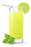 Lime juice stock photo