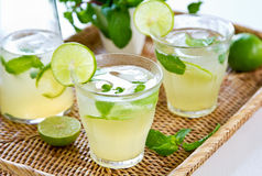 Lime juice Stock Photography