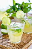Lime juice Stock Images