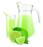 Lime juice Stock Photos