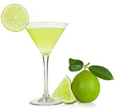 Lime juice and lime Stock Photos