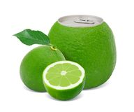 Lime juice Royalty Free Stock Images