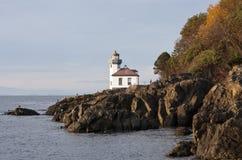 Lime Kiln Lighthouse Royalty Free Stock Photo