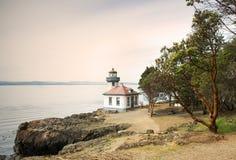 Lime Kiln Lighthouse Stock Photography