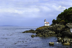 Lime Kiln Lighthouse Royalty Free Stock Photos