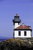 Lime Kiln Lighthouse Stock Image